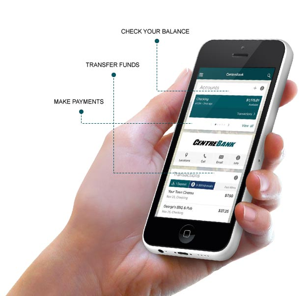 CentreBank Mobile App